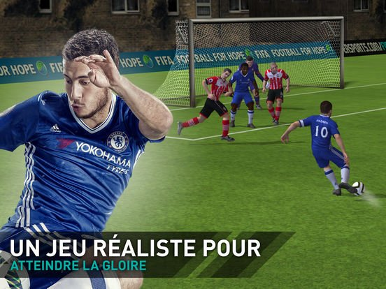 FIFA Mobile Football (FIFA 17) disponible sur iPhone & iPad