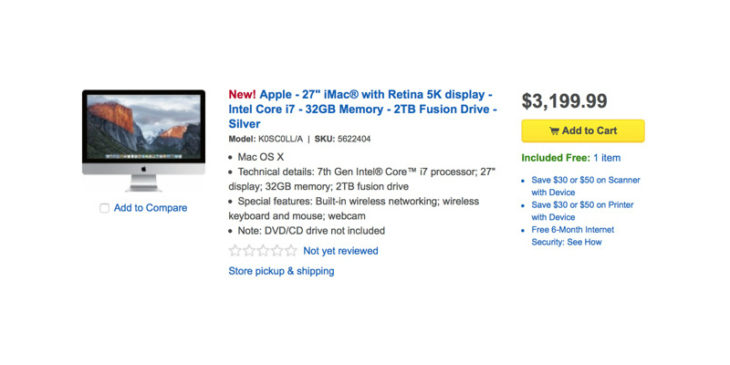 iMac 5K : spécifications techniques et prix déjà connus ?