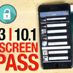 iOS 10 : accéder aux contacts, photos et vidéos sans mot de passe