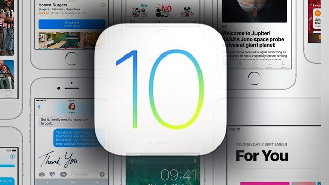 ios 10 - iOS 10.1 disponible sur iPhone, iPad et iPod Touch