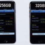 iPhone 7 32 Go : une vitesse d'écriture plus lente que les 128 & 256 Go