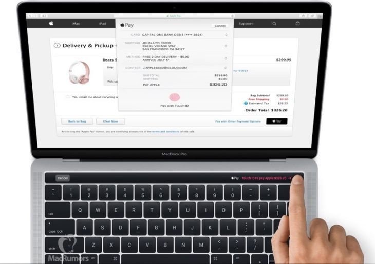 MacBook Pro 2016 : premières images officielles (barre OLED & Touch ID)