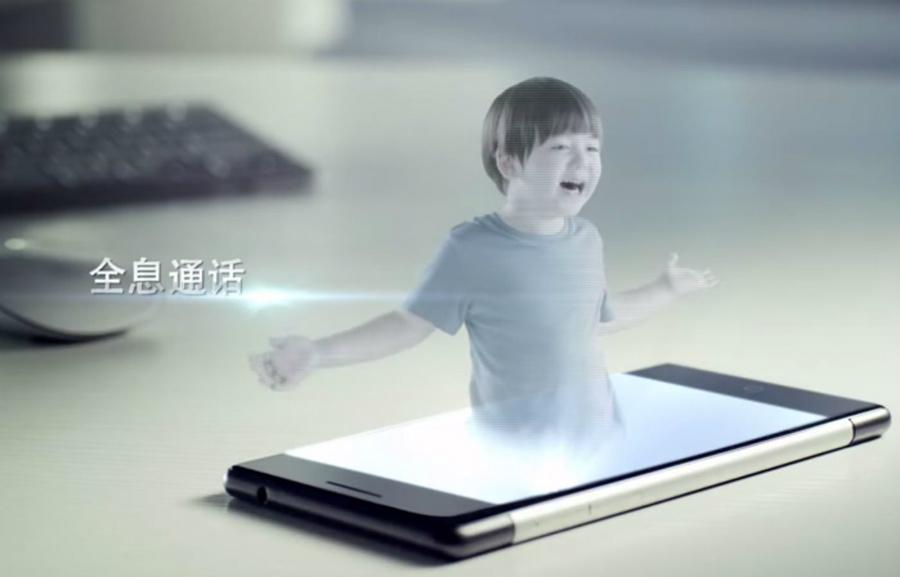 smartphone-hologramme