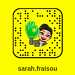 Snapchat Sarah Fraisou : compte officiel