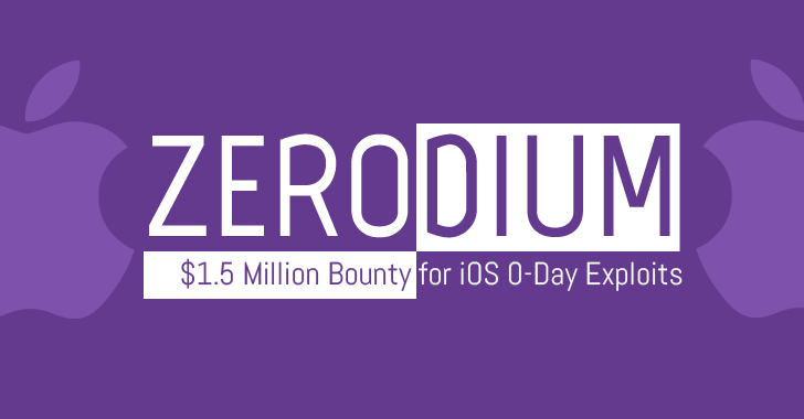 zerodium jailbreak ios 10 - Jailbreak iOS 10 : Zerodium offre 1,5 million de dollars de prime