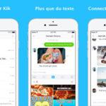 Kik : nouveau design, GIF et autres nouveautés sur iPhone