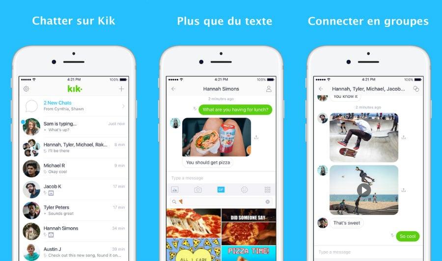 Kik iphone - Kik : nouveau design, GIF et autres nouveautés sur iPhone