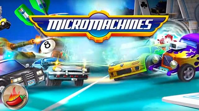 Micro Machines - Les meilleurs jeux mobiles de 2016