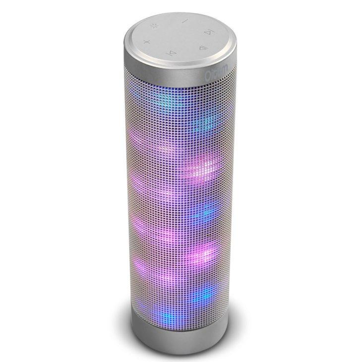 Oittm : une enceinte Bluetooth originale avec jeux de lumière LED