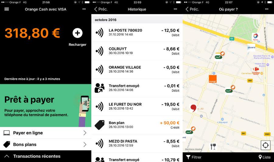 apple pay orange cash est disponible sur l 39 app store iphone. Black Bedroom Furniture Sets. Home Design Ideas