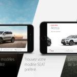 SEAT Augmented Reality : votre future voiture en réalité augmentée