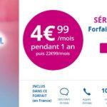 B&You : un forfait 4G 10 Go à 4,99€/mois pendant 1 an !