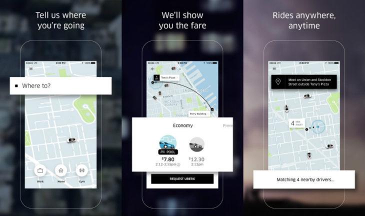 VTC : l'app Uber peau neuve et devient plus intelligente
