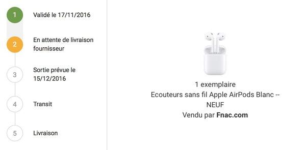 Apple AirPods : date de sortie le 15 décembre ?