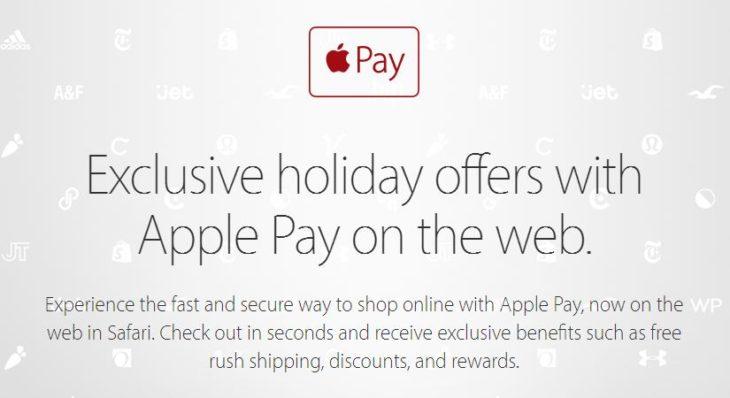 Apple Pay : des offres exclusives pour les utilisateurs aux Etats-Unis