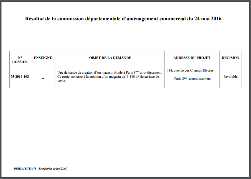 apple-store-champs-elysees-commission-departementale-decision