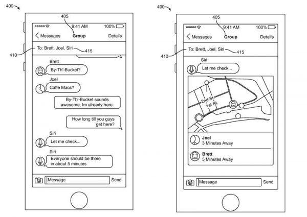 Brevet : Apple veut intégrer Siri dans iMessage