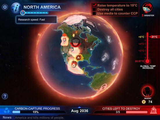carbon warfare - Carbon Warfare : le jeu qui sensibilise au réchauffement climatique