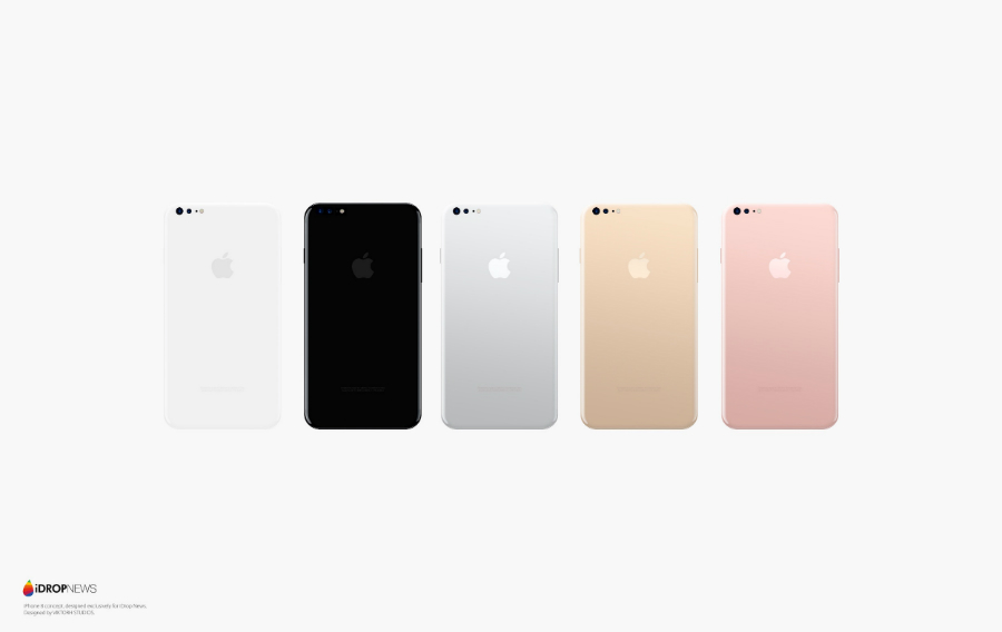 concept iphone 8 idropnews 5 - iPhone 8 : un concept noir et blanc tout tactile