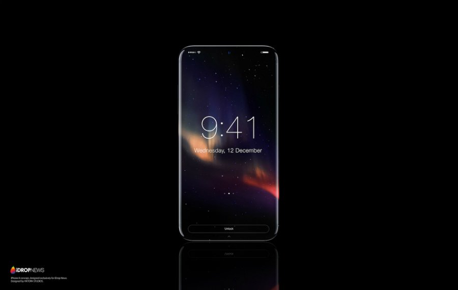concept iphone 8 idropnews 6 - iPhone 8 : un concept noir et blanc tout tactile