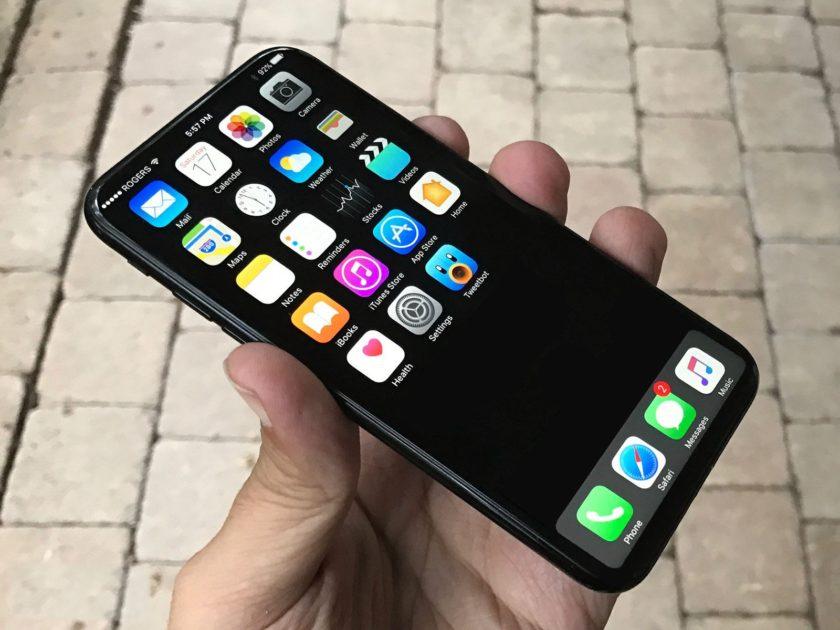iPhone 8 concept sans bord - iPhone 8 : un joli concept sans bord en attendant 2017