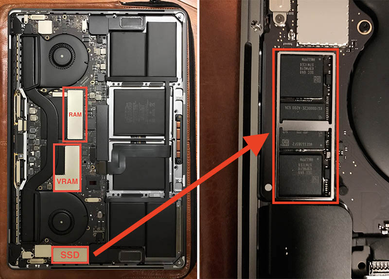 macbook pro touch bar ssd - MacBook Pro avec Touch Bar : le SSD est soudé et ne peut être remplacé