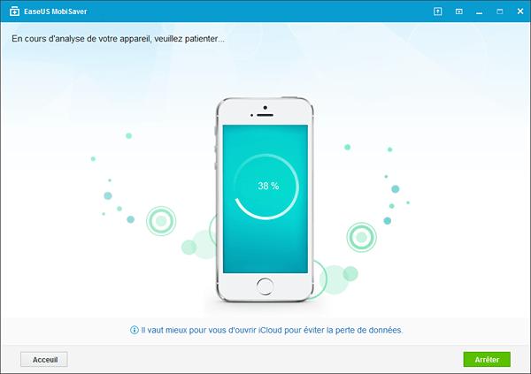 mobisaver analyse iphone - EaseUS MobiSaver : la récupération de données facile sur iPhone & iPad