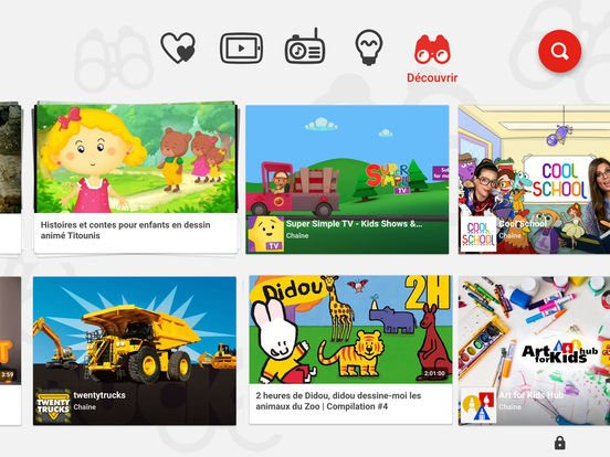 App Store : YouTube Kids enfin disponible sur iPhone & iPad