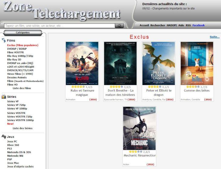 Zone-telechargement.com déjà de retour (mais DL-protect.com down) !
