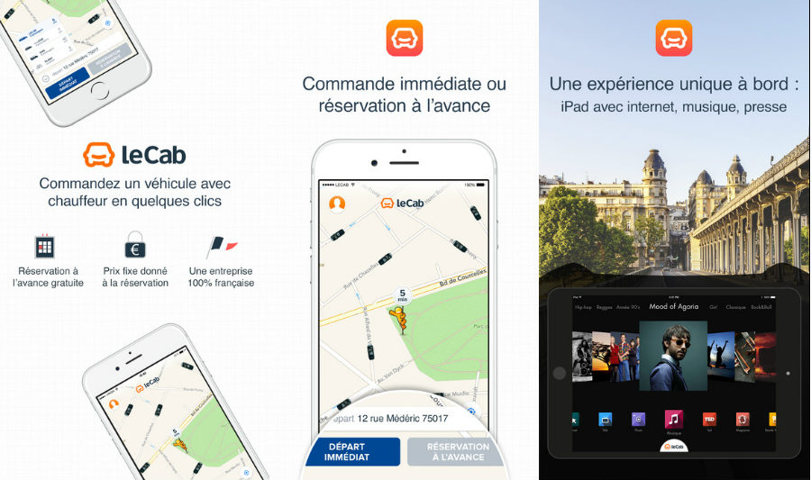 Application vtc lecab iphone - Code Promo LeCab : -15€ sur votre 1ère course en VTC !