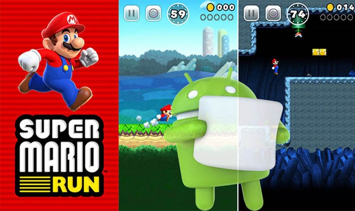 Super Mario Run APK ANDROID - Super Mario Run sur Android : Google Play propose de s'enregistrer