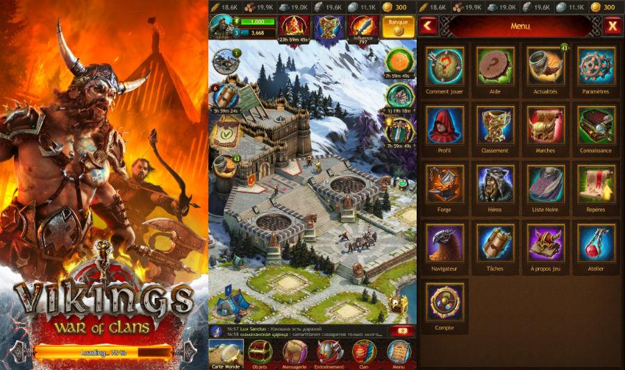 Vikings War of clans iphone - Vikings War of Clans : un jeu de stratégie à posséder sur iPhone & iPad