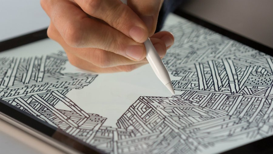 apple pencil ipad pro - Brevet : l'Apple Pencil compatible avec l'iPhone en 2017 ?