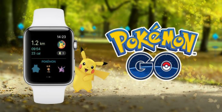 Pokémon GO enfin disponible sur Apple Watch