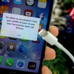 Apple déconseille les chargeurs iPhone & iPad non certifiés (contrefaçons)