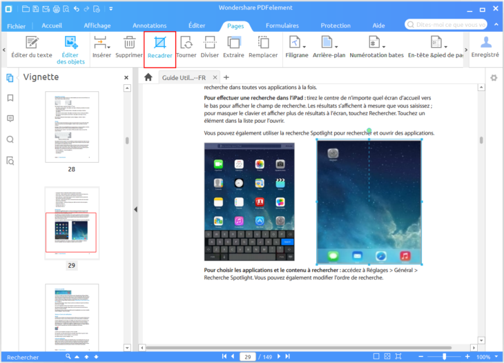 Comment éditer les pages d'un document PDF (Windows & Mac) ?