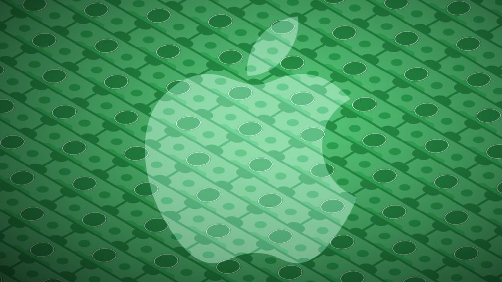 dollars apple 1024x576 - Apple : un chiffre d'affaires de 52,9 milliards de dollars au Q2 2017