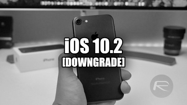 Tutoriel pré-jailbreak : downgrader iOS 10.2 vers iOS 10.1.1
