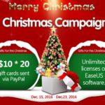 Noël 2016 : des cartes cadeaux Paypal & des logiciels EaseUS à gagner