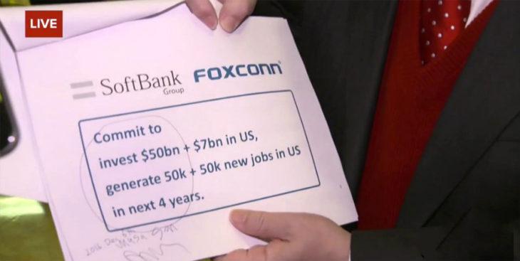Foxconn : vers de nouvelles usines de production d'iPhone aux US ?