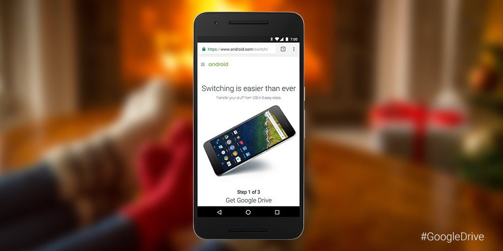 Google Drive: passer d'iOS à Android devient plus facile