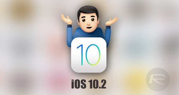 iOS 10.2 disponible sur iPhone, iPad & iPod Touch