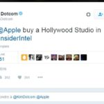 Apple pourrait racheter un studio hollywoodien en 2017