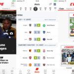L'ÉQUIPE : nouvelle identité graphique sur iPhone & iPad