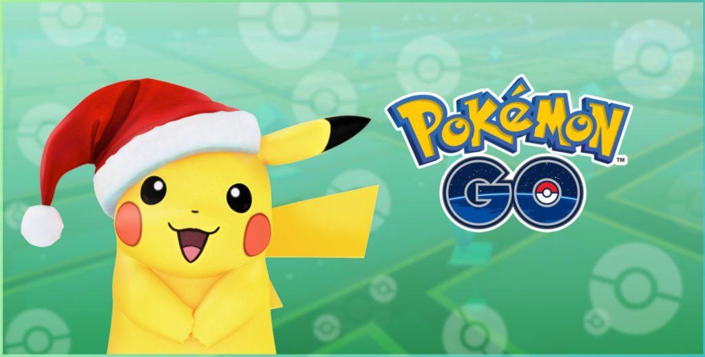 pokemon go pikachu noel 1024x519 - Pokémon GO : de nouveaux Pokémons sont arrivés !