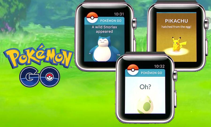 Pokémon GO : une sortie imminente sur Apple Watch
