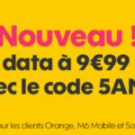 Sosh : le forfait 4G à 9,99€/mois passe à 20Go pendant 1 an !