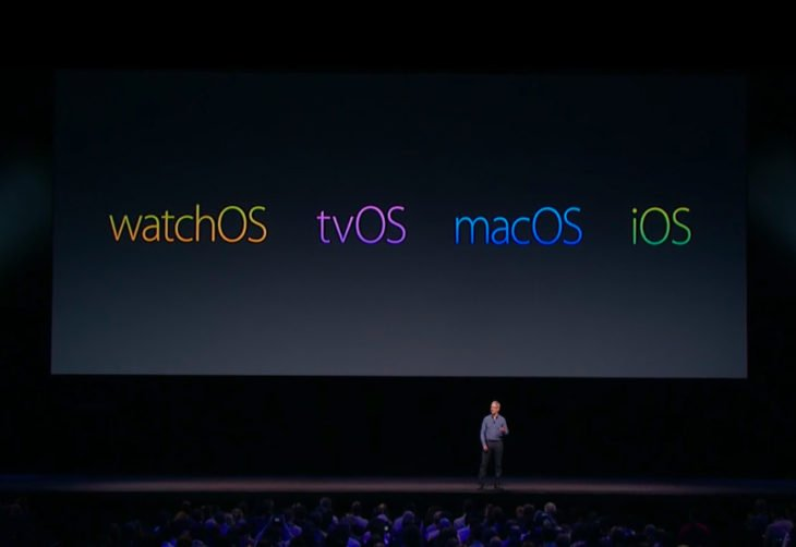 tvOS 10.2, macOS 10.12.4, watchOS 3.2 : bêtas 4 disponibles