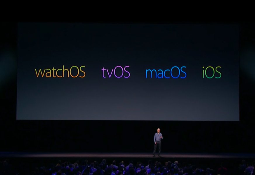 watchos tvos macos ios - macOS 10.12.4, watchOS 3.2, tvOS 10.2 : bêtas 3 disponibles