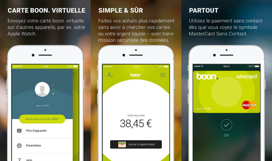 Boon app store iphone france - Apple Pay : boon. vient concurrencer Orange Cash en France